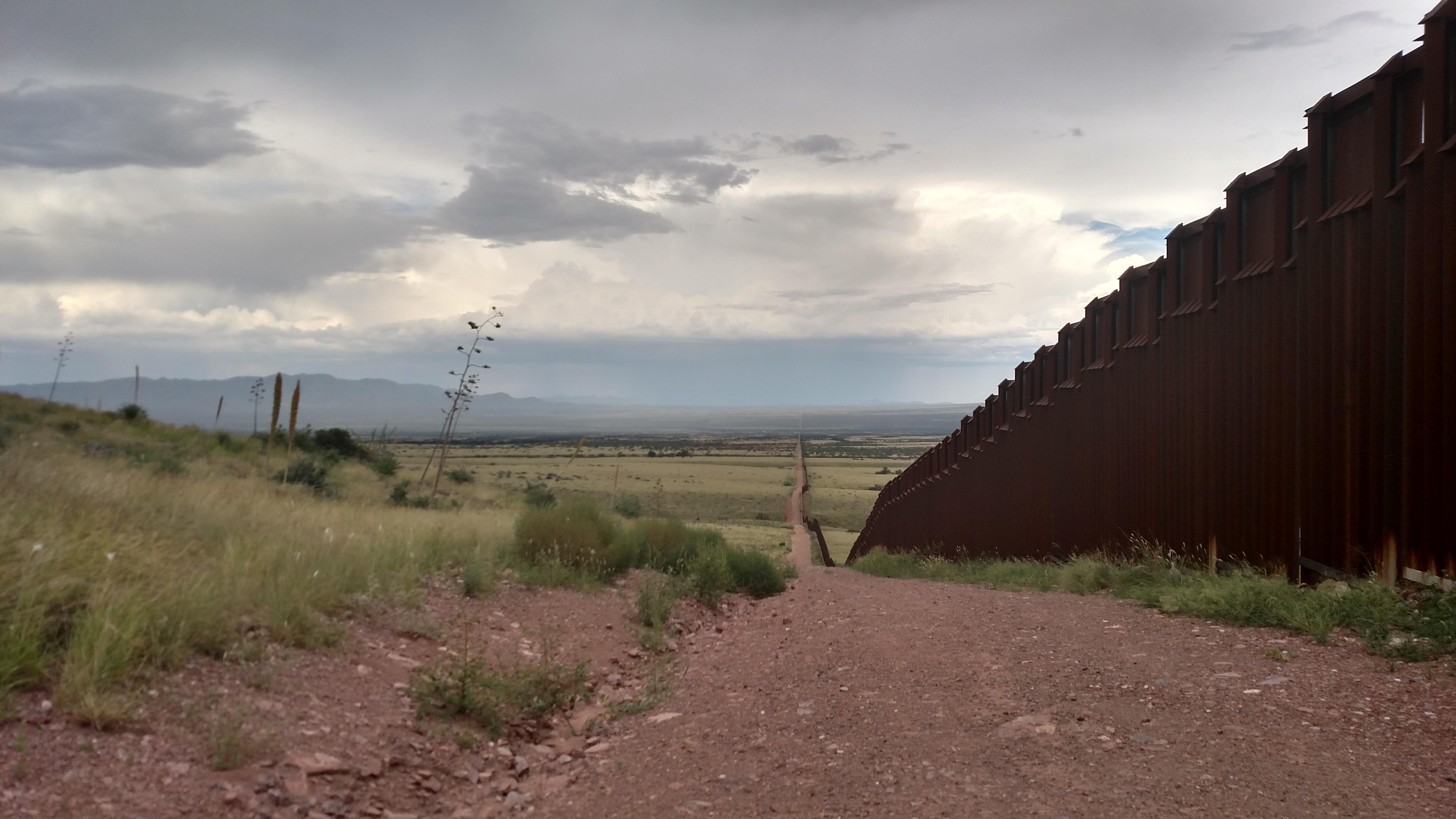 desert border wall