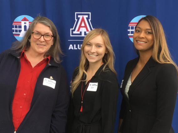 Three women in ATA