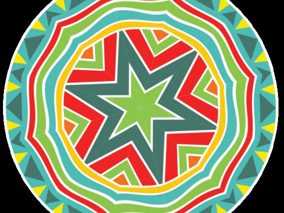 colorful circle artwork