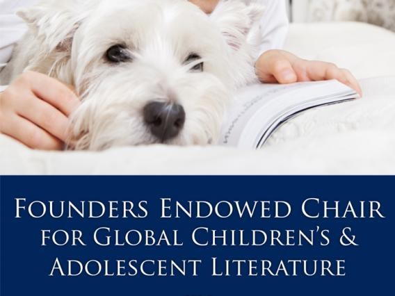 Founder's Chair of Global Children's and Adolescent Literature poster
