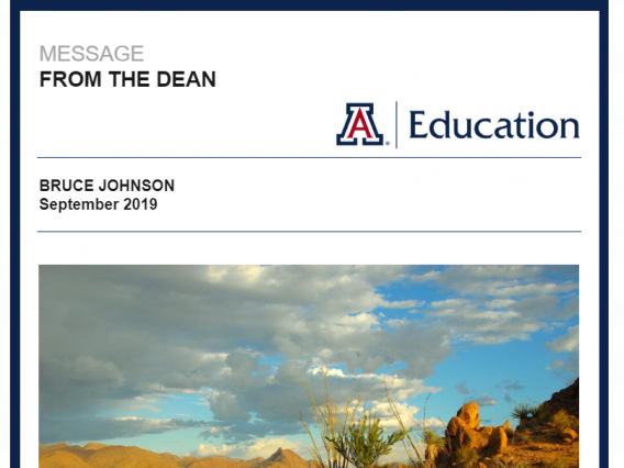 message from the dean newsletter