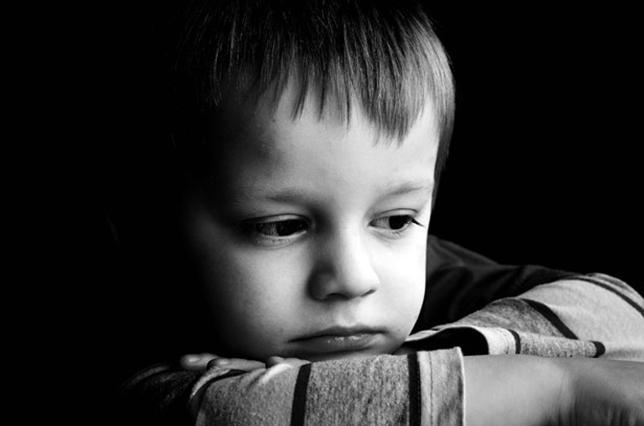 sad child