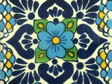 colorful mexican tile